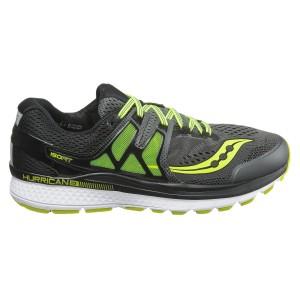 נעליים סאקוני לגברים Saucony Hurricane ISO 3 - שחור/כחול