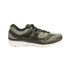 נעליים סאקוני לגברים Saucony Triumph ISO 3 - שחור/אפור