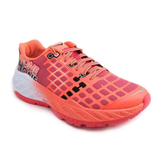 נעליים הוקה לנשים Hoka One One Clayton Speed Trainer - אדום