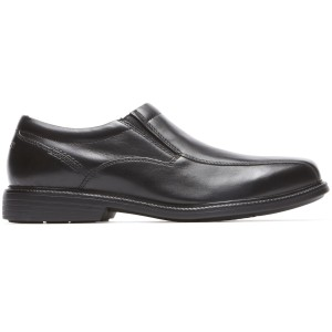 נעליים אלגנטיות רוקפורט לגברים Rockport Charles Road Slip On - שחור