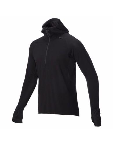 מוצרי אינוב 8 לגברים Inov 8 Merino mid layer - שחור