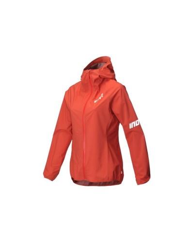 מוצרי אינוב 8 לנשים Inov 8 Stormshell waterproof running jacket - אדום