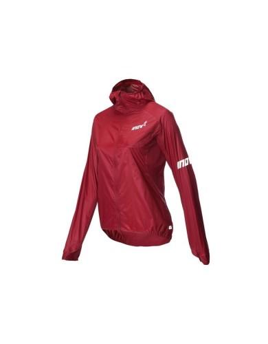 מוצרי אינוב 8 לנשים Inov 8 Windshell windproof jacket - בורדו