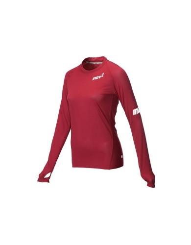 מוצרי אינוב 8 לנשים Inov 8 Long sleeve base layer - אדום