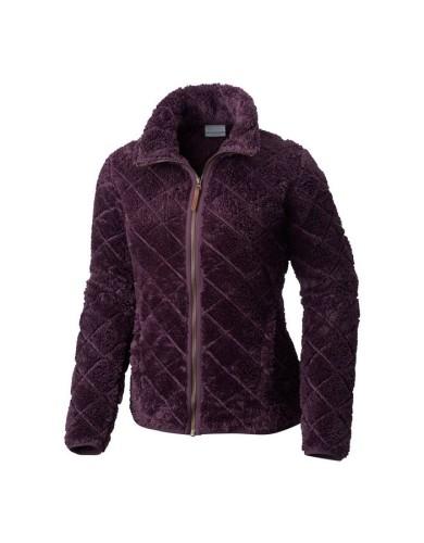 בגדי חורף קולומביה לנשים Columbia Fire Side Sherpa - סגול