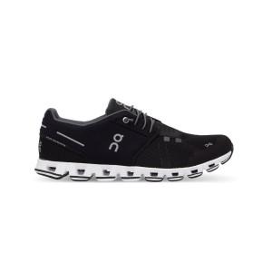נעלי ריצה און לנשים On Cloud Black White - שחור/לבן
