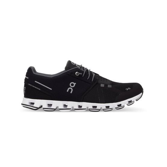 נעליים און לנשים On Cloud Black White - שחור/לבן