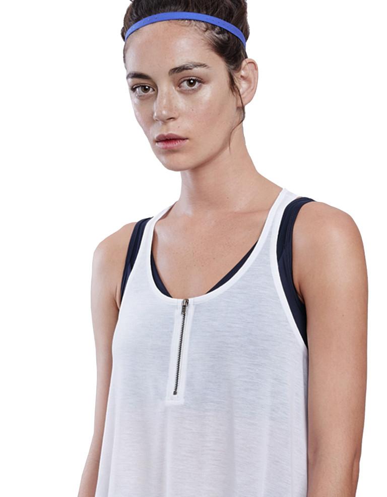 ביגוד לונקס לנשים Lynx Bestie White top - לבן
