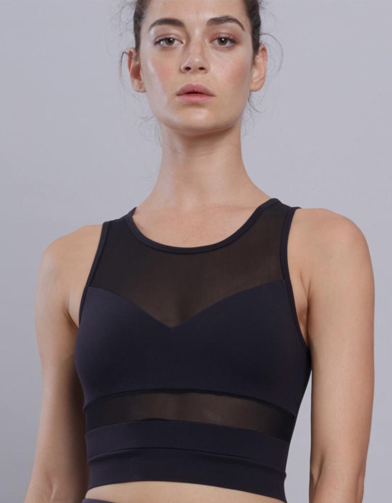 מוצרי Lynx לנשים Lynx Chic Lynx Black Top - שחור