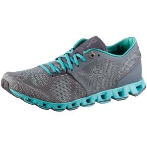 נעליים און לנשים On Cloud X - אפור/טורקיז