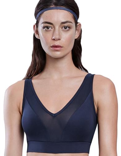 מוצרי לונקס לנשים Lynx Lushky Midnight Blue Sports Bra - כחול כהה