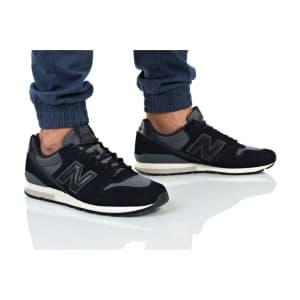 נעלי הליכה ניו באלאנס לגברים New Balance MRL996 - שחור/אפור