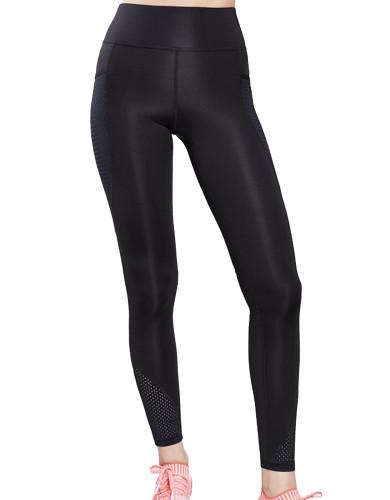 ביגוד לונקס לנשים Lynx Uppereast Black leggings - שחור