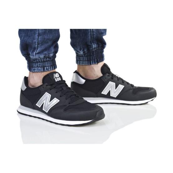 נעלי הליכה ניו באלאנס לגברים New Balance GM500 - שחור/לבן