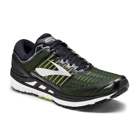נעליים ברוקס לגברים Brooks Transcend 5 - שחור/ירוק
