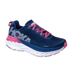 נעליים הוקה לנשים Hoka One One Bondi 5 - כחול כהה/ורוד