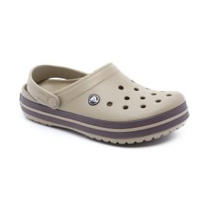 מוצרי Crocs לנשים Crocs Crocband - חאקי