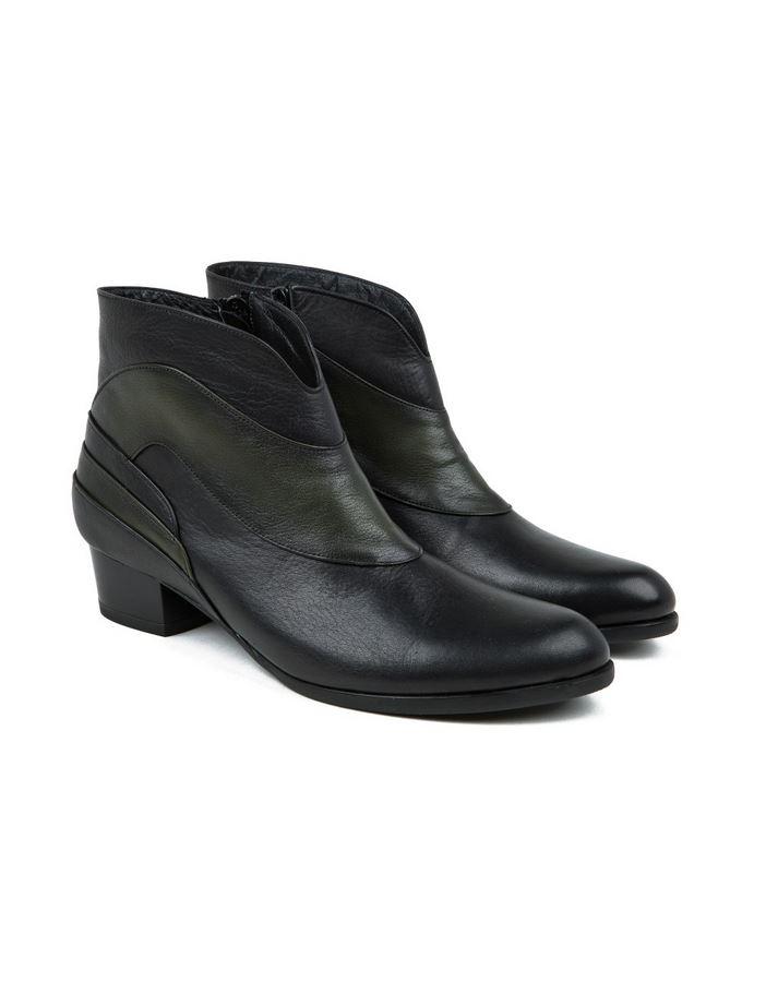 מגפיים יופי לנשים Yoopi Ozcan - שחור/ירוק