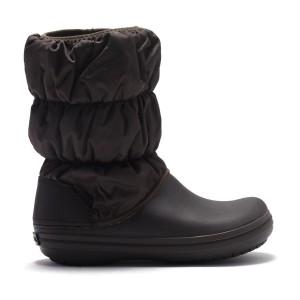 מוצרי Crocs לנשים Crocs Winter Puff Boot - חום