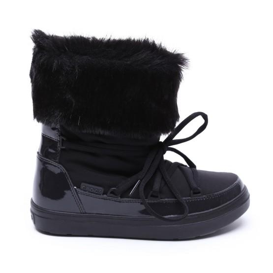 מוצרי Crocs לנשים Crocs LodgePoint Lace Boot - שחור