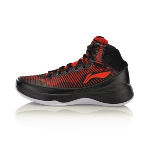 נעלי כדורסל לי נינג לגברים Li-Ning Quickness  On Court - שחור/אדום