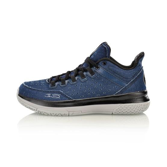 נעלי כדורסל לי נינג לגברים Li-Ning Wade On Court - כחול/שחור