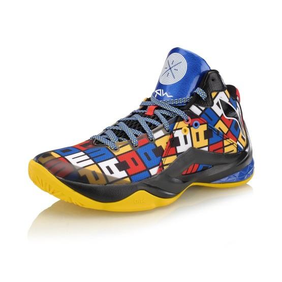 נעלי כדורסל לי נינג לגברים Li-Ning Wade Professional - צבעוני