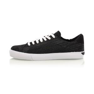 מוצרי לי נינג לגברים Li-Ning Woven Sneakers - שחור/לבן