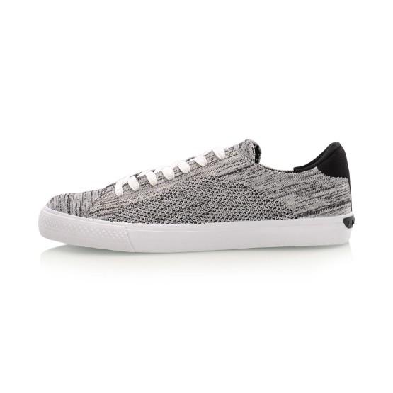 מוצרי לי נינג לגברים Li-Ning Woven Sneakers - אפור/לבן