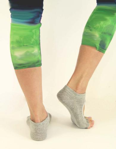 אביזרי ביגוד My-O-My לנשים My-O-My anti slip yoga socks - אפור בהיר
