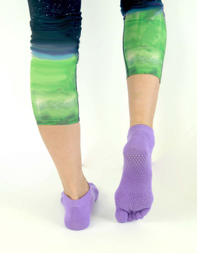 אביזרי ביגוד My-O-My לנשים My-O-My anti slip yoga socks - סגול