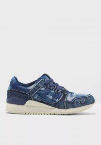 נעלי סניקרס אסיקס טייגר לגברים Asics Tiger Gel Lyte III - כחול