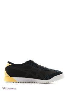 נעלי ריצה אסיקס טייגר לגברים Asics Tiger Mexico 66 - שחור/צהוב