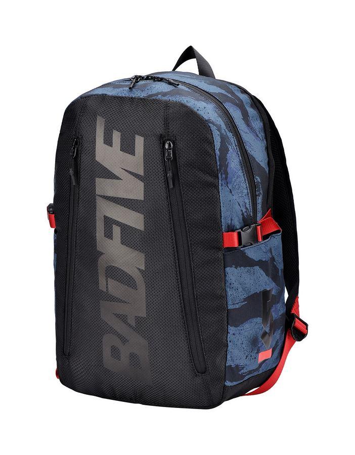 מוצרי לי נינג לנשים Li-Ning BAD FIVE Training Backpack - כחול/שחור