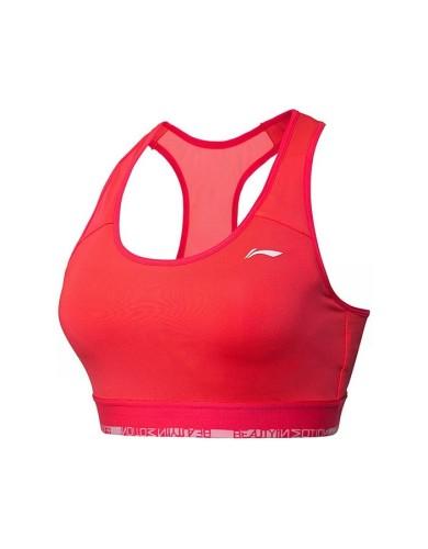 מוצרי לי נינג לנשים Li-Ning Professional Sport Bra - ורוד/כתום