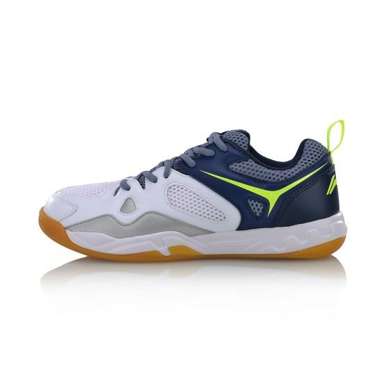 נעלי אימון לי נינג לגברים Li-Ning AVID CLUB LEVEL - כחול/לבן