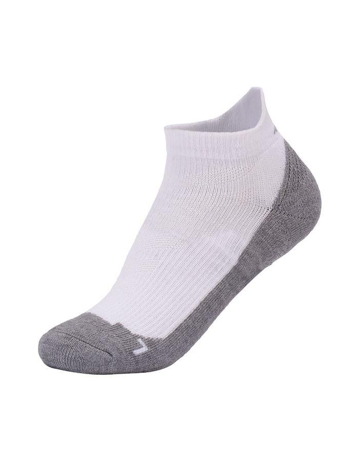 אביזרי ביגוד לי נינג לנשים Li-Ning Fitness Footie Socks - לבן/אפור