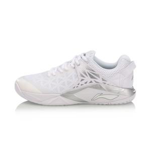 נעלי אימון לי נינג לגברים Li-Ning Armor Badminton - אפור/לבן