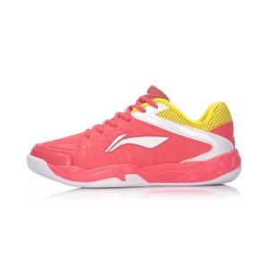 נעלי אימון לי נינג לנשים Li-Ning Badminton Training - ורוד/צהוב