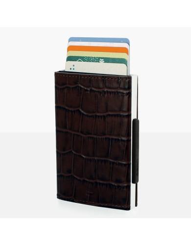 אביזרים אוגון לגברים OGON Cascade Wallet - חום כהה