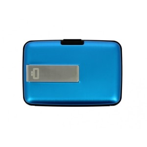 אביזרים אוגון לגברים OGON Clip Wallet - כחול