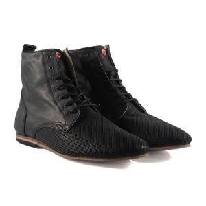 נעליים אלגנטיות נו ברנד לגברים NOBRAND Dix - שחור