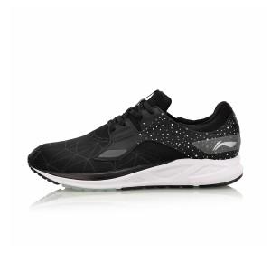 נעליים לי נינג לגברים Li-Ning Flash Running - שחור/לבן