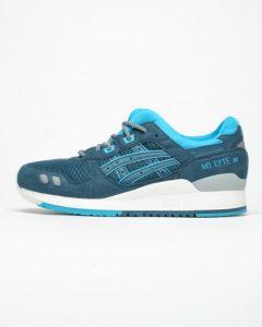 נעלי סניקרס אסיקס טייגר לגברים Asics Tiger Gel Lyte III - כחול/תכלת