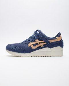 נעלי סניקרס אסיקס טייגר לגברים Asics Tiger Gel Lyte III - כחול/צהוב
