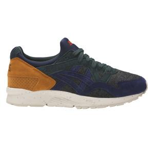 נעליים אסיקס טייגר לגברים Asics Tiger Gel Lyte V - אפור/ירוק