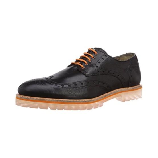 נעליים אלגנטיות נו ברנד לגברים NOBRAND Oak - שחור