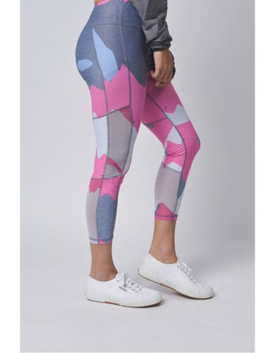 ביגוד לופופ לנשים LUPOP Pink Camouflage - ורוד