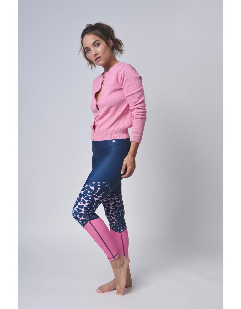 ביגוד לופופ לנשים LUPOP Pink Tiger - ורוד/כחול