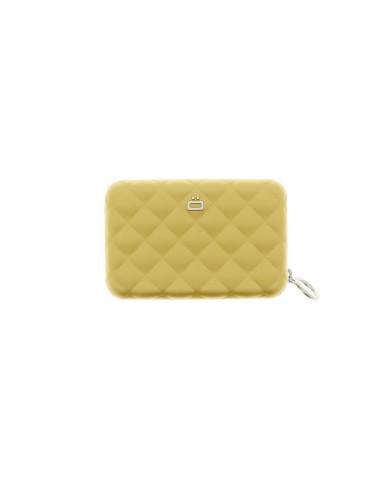 מוצרי אוגון לנשים OGON Quilted Zipper - זהב